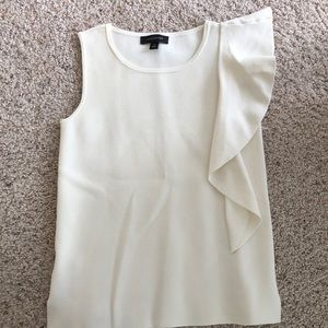 Viscose cream blouse from Ann Taylor